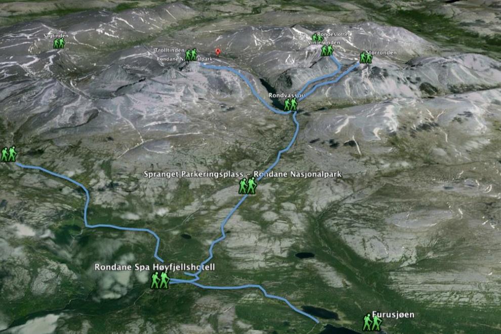 Hvorfor fjelltur i Rondane?