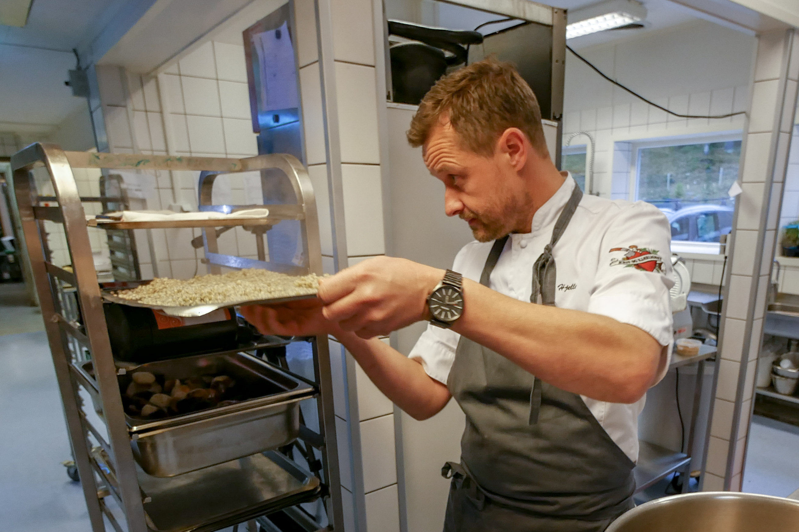 Vår meny er inspirert av mesterkokk Øyvind Hjelle